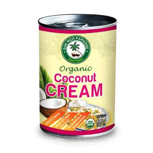 Кокосовые сливки органические 400мл - FreshMart