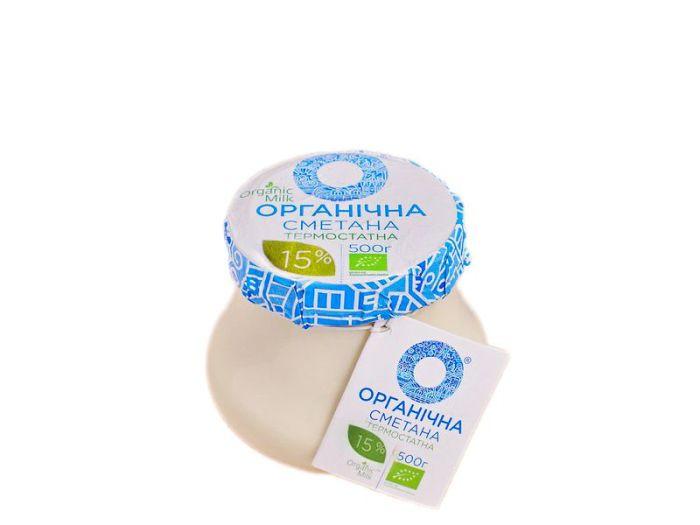 Сметана Органическая 15% 270г - FreshMart