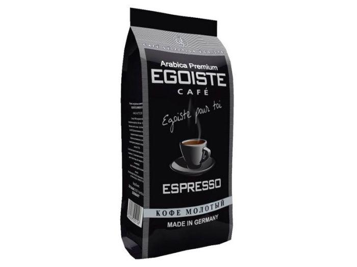 Кофе Egoiste Espresso молотый 250г - FreshMart
