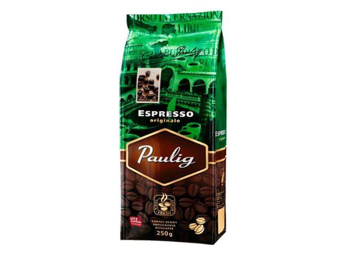 Кофе Paulig Espresso Originale в зернах 250г - FreshMart