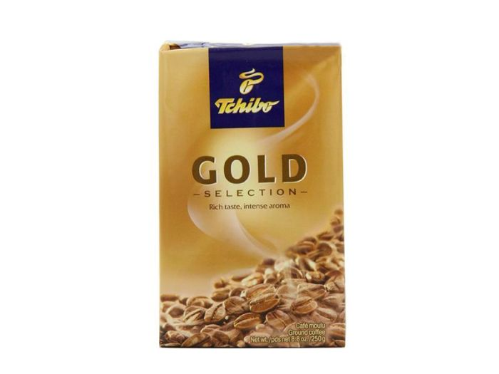 Кофе Tchibo Gold молотый 250г - FreshMart