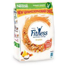 Готовый завтрак с фруктами Nestle Fitness 400г - FreshMart