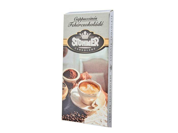 Шоколад Stuhmer белый крем капучино 100г - FreshMart