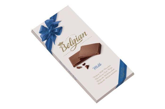 Шоколад Belgian молочный 100г - FreshMart